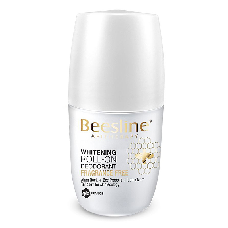 Beesline Whitening Roll-On Deo Frag Free 50ml