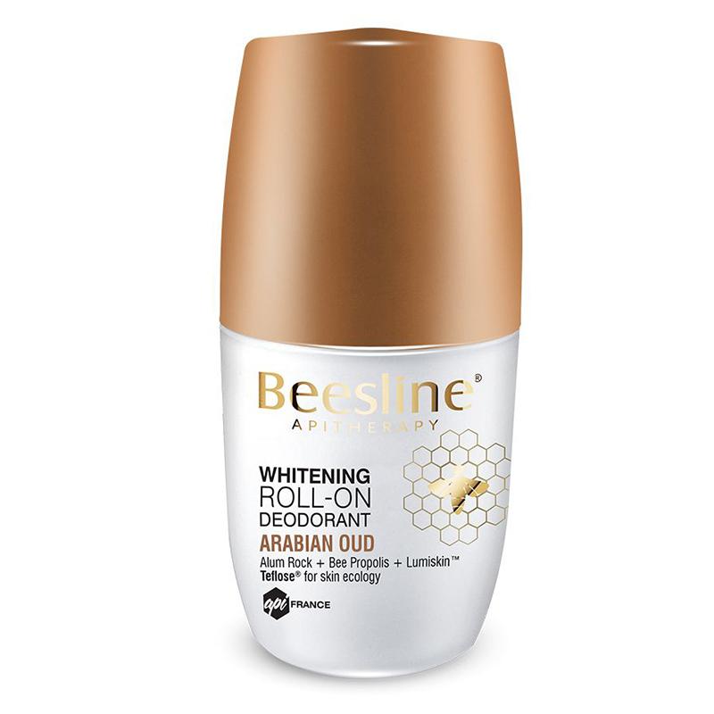 Beesline Whitening Roll-On Deodorant - Arabian Oud 50ml