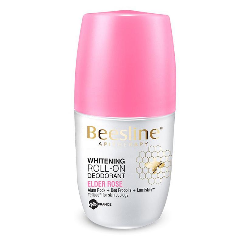 Beesline Whitening Roll-On Fragranced Deo Elder Rose 50ml