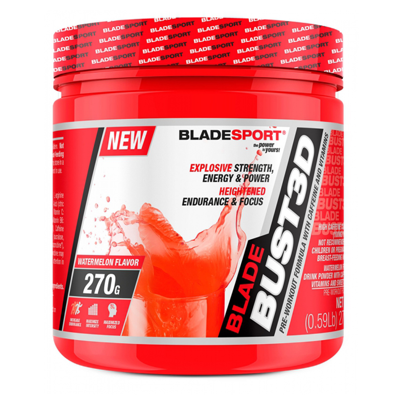 Blade Sports Bust 3D Pre Workout 45 Servings