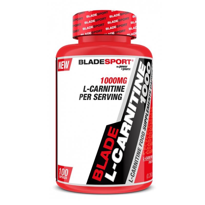 Blade Sports L Carnitine 1000 mg 100 Caps