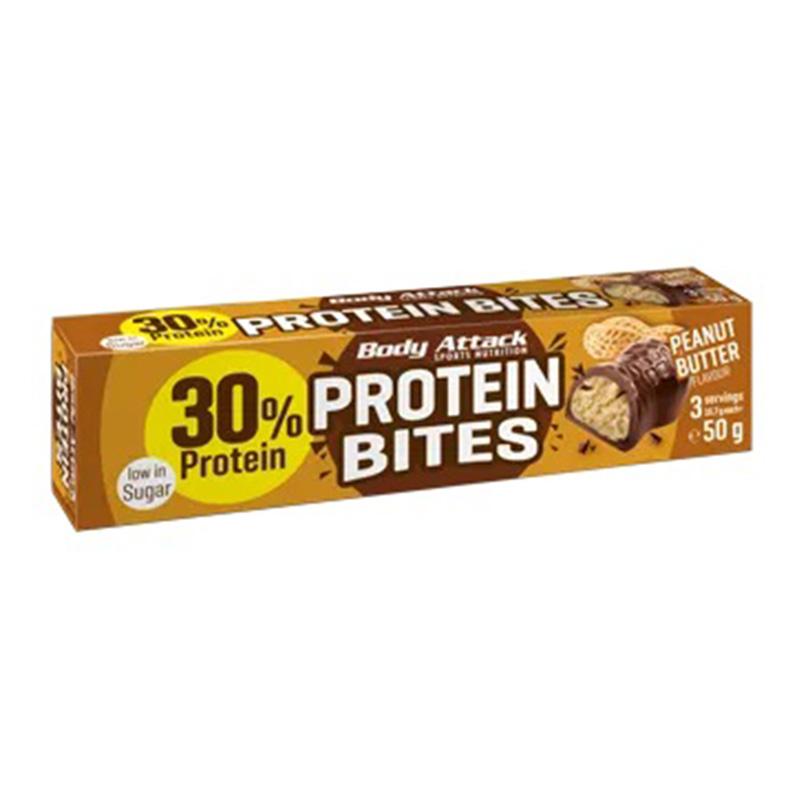 Body Attack Protein Bites 50 g 1 x 36 Bars