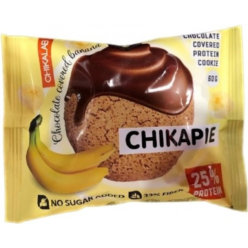 Bombbar Protein Chikapie Chocolate Covered with Banana 9 in a Box