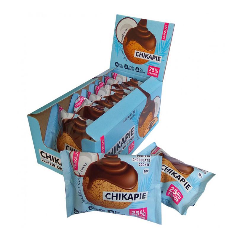 Bombbar Protein Chikapie Coconut Chocolate 9 in a Box