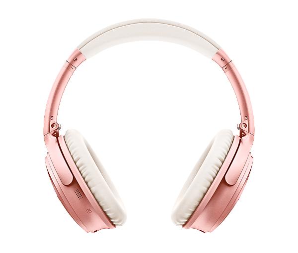 Bose Headphone Quiet Comfort QC 35 Rose Gold
