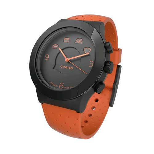 Buy Cogito Fit Orange Dark Smartwatch in Dubai