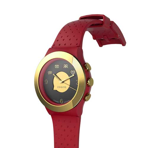 Buy COGITO FIT Red Marsala Smartwatch in Dubai