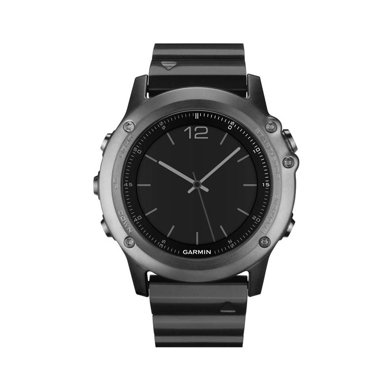 Buy Garmin Fenix 3 Sapphire Metal Band Watch with GPS and Heart Rate Monitor in Dubai