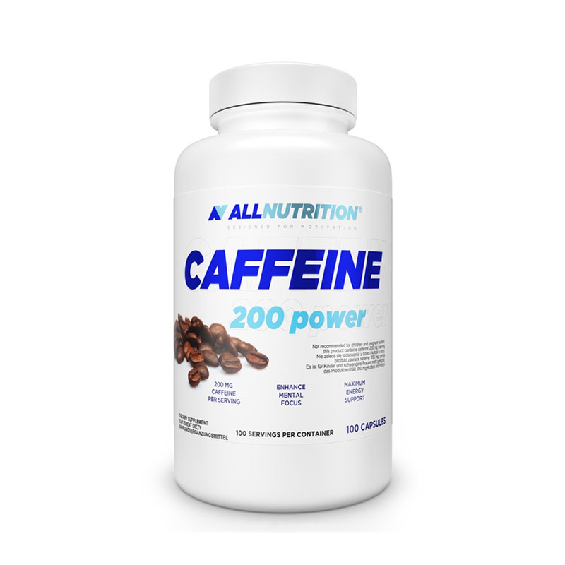 All Nutrition Caffeine 100 Capsules 200mg