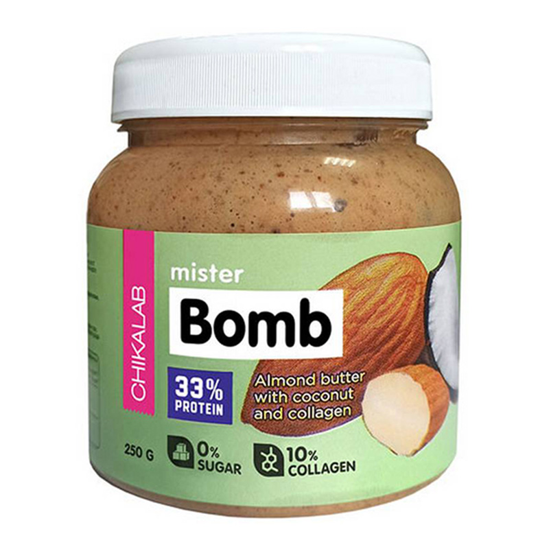 ChikaLab Mister Bomb Almond Butter with Coconut 250 G
