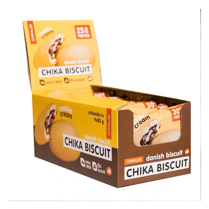Chikalab Protein Chika Danish Biscuits 1x9 Packs