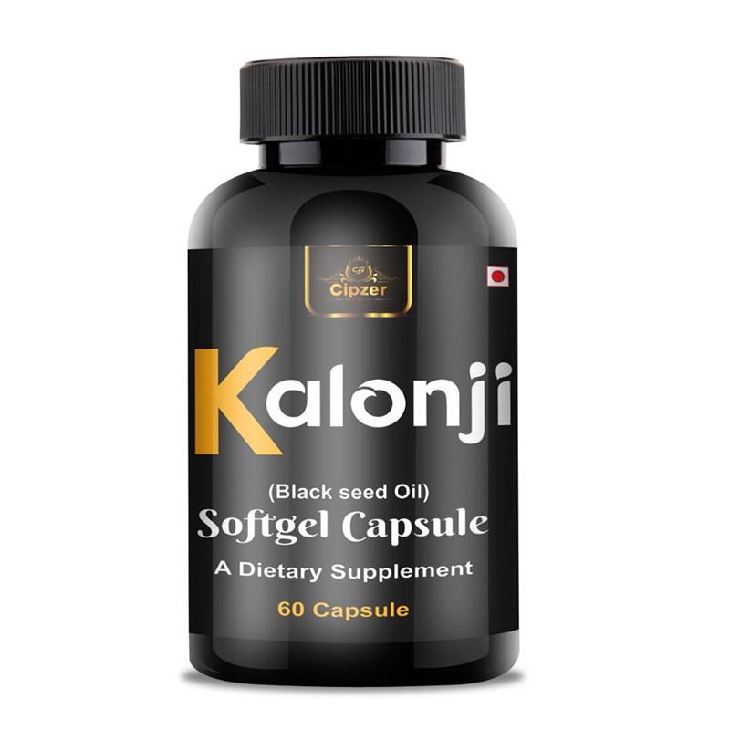 Cipzer Kalonji - Black Seeds Oil Softgel Capsule | 500mg