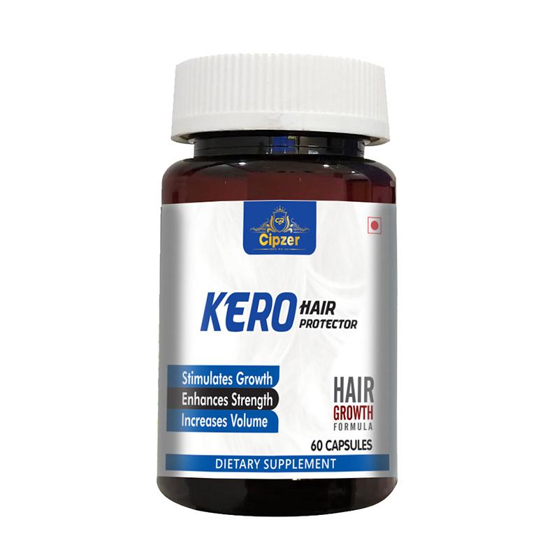 Cipzer Kero Hair Protecter Capsules | Biotin with Tea Tree Extract