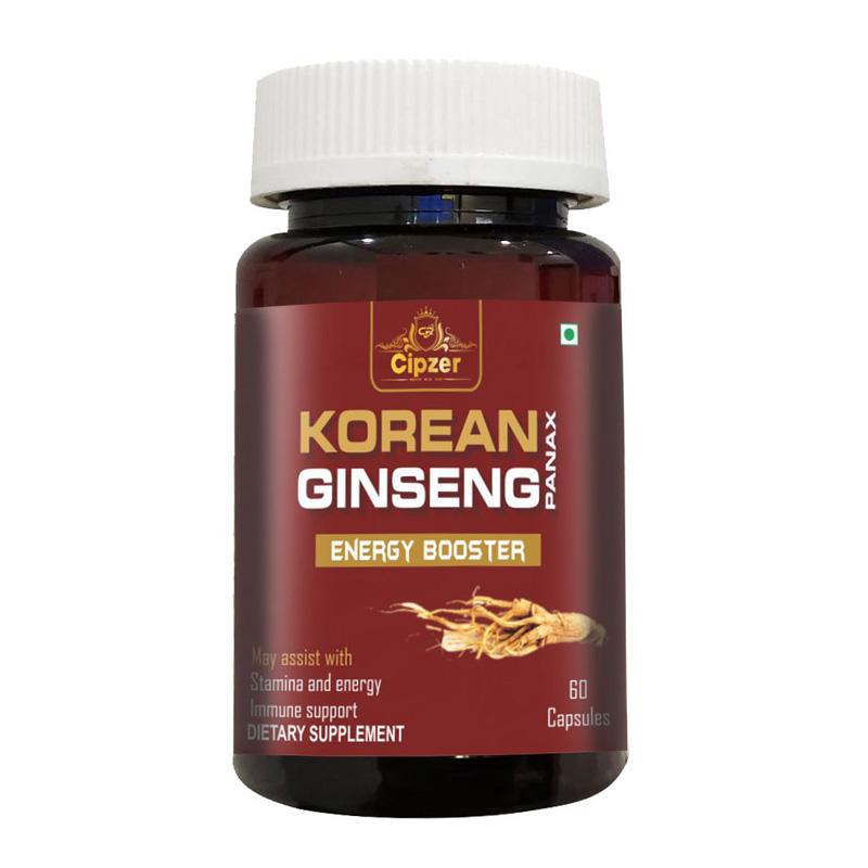 Cipzer Korean Ginseng Capsule | 500mg