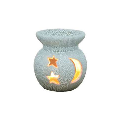 Crescent White Mini Aroma Candle Diffusers Distrubutor in UAE