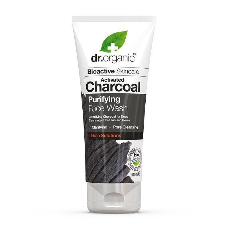 Dr. Organic Charcoal Face Wash 200ml