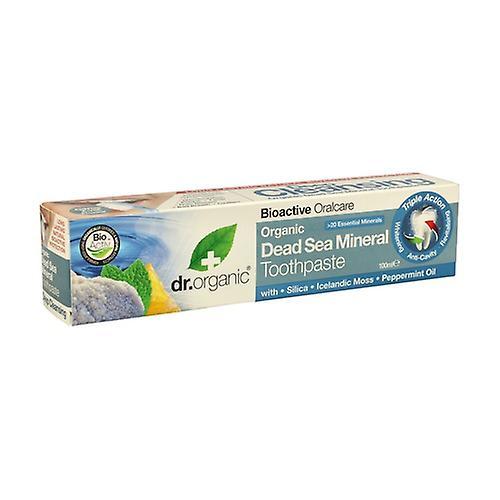 Dr. Organic Dead Sea Organic Minerals Toothpaste 100 ml