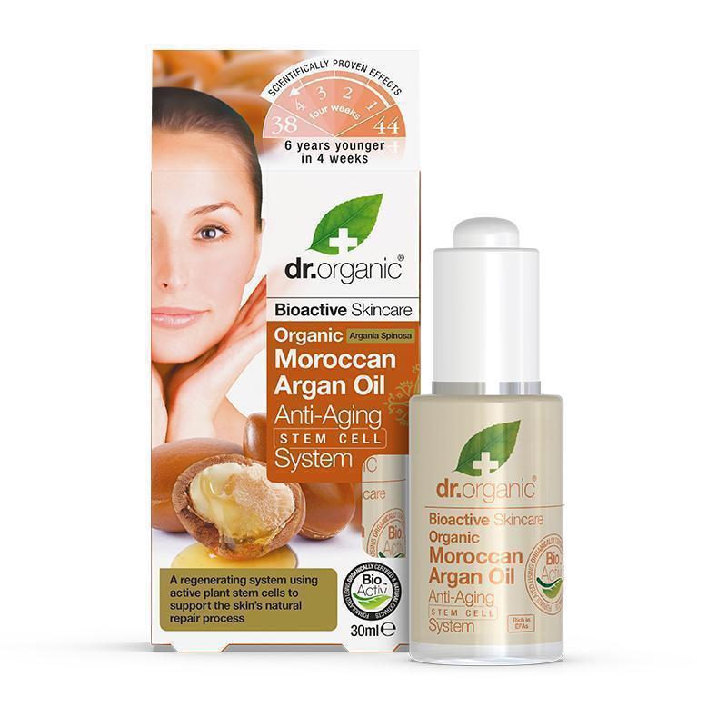 Dr. Organic Moroccan Argan Oil Anti-Ageing Stem Cell System 30ml