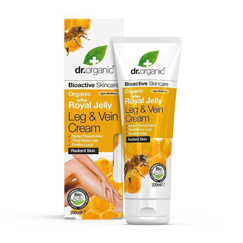 Dr. Organic Royal Jelly Leg & Vein Cream 200ml