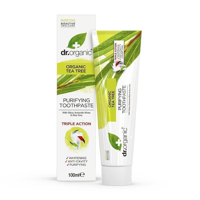 Dr. Organic Tea Tree Toothpaste 100ml