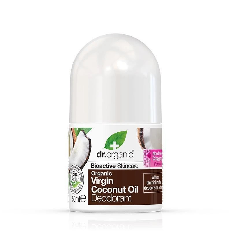 Dr. Organic Virgin Coconut Oil Deodorant 50ml