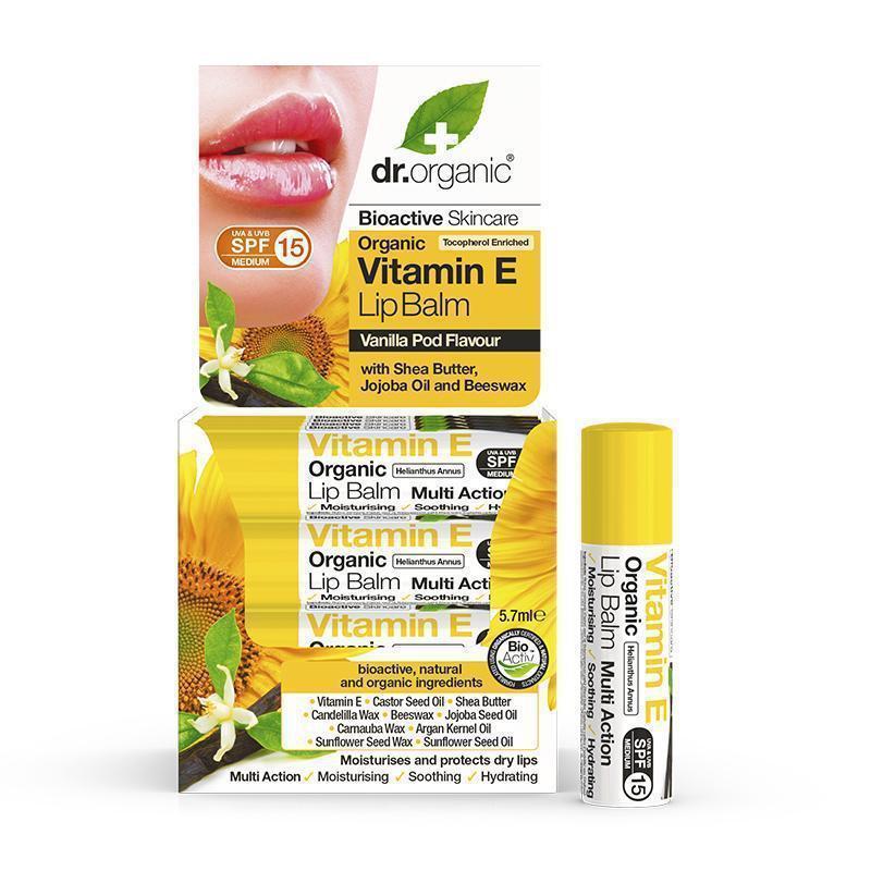 Dr. Organic Vitamin E Lipbalm 5.7ml