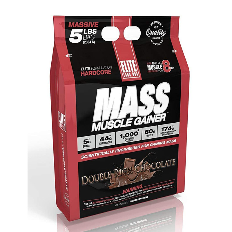 Elite Labs USA Muscle Mass Gainer 5lbs NEW