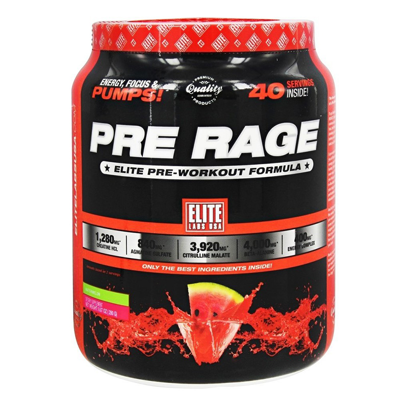 ELite Labs USA Pre Rage 280g