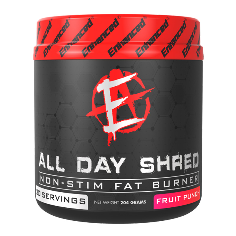 Enhanced Labs All Day Shred Fruit Punch 30 Servings
