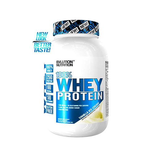 EVL 100% Whey protein 4 Lbs