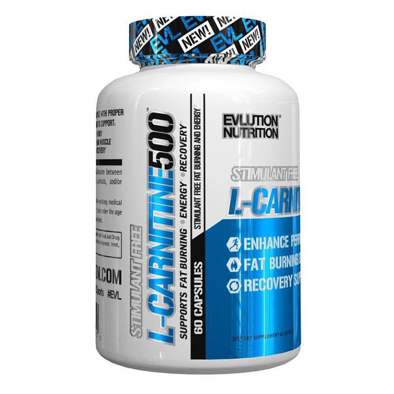 EVL L-Carnitine 500 - 60 Caps