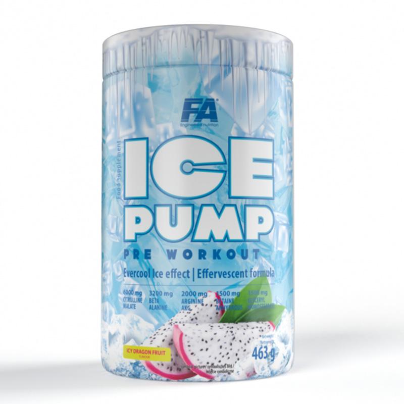 FA Nutrition Ice Pump Pre Workout Dragon Fruit 463 g