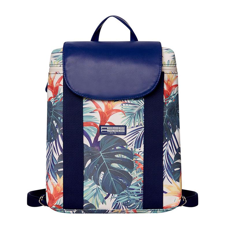 Feel Free Mini Tropical Backpack - Botanic Green