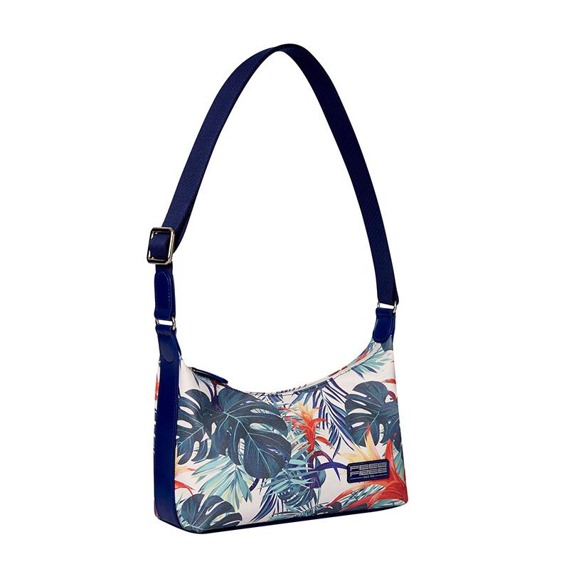 Feel Free Mini Tropical Handbag - Botanic Green
