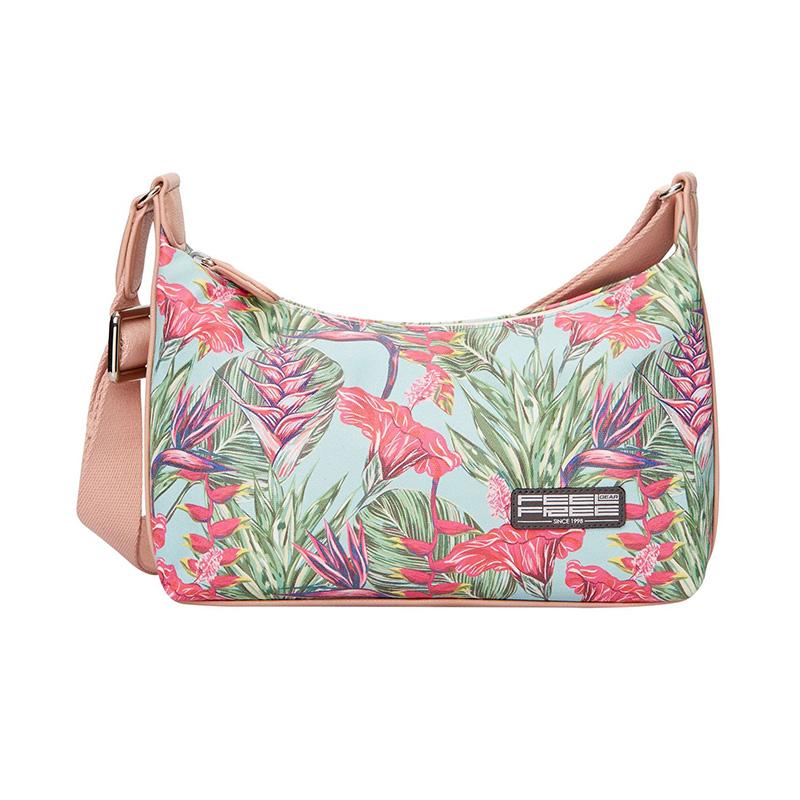 Feel Free Mini Tropical Handbag - Harmony Mint
