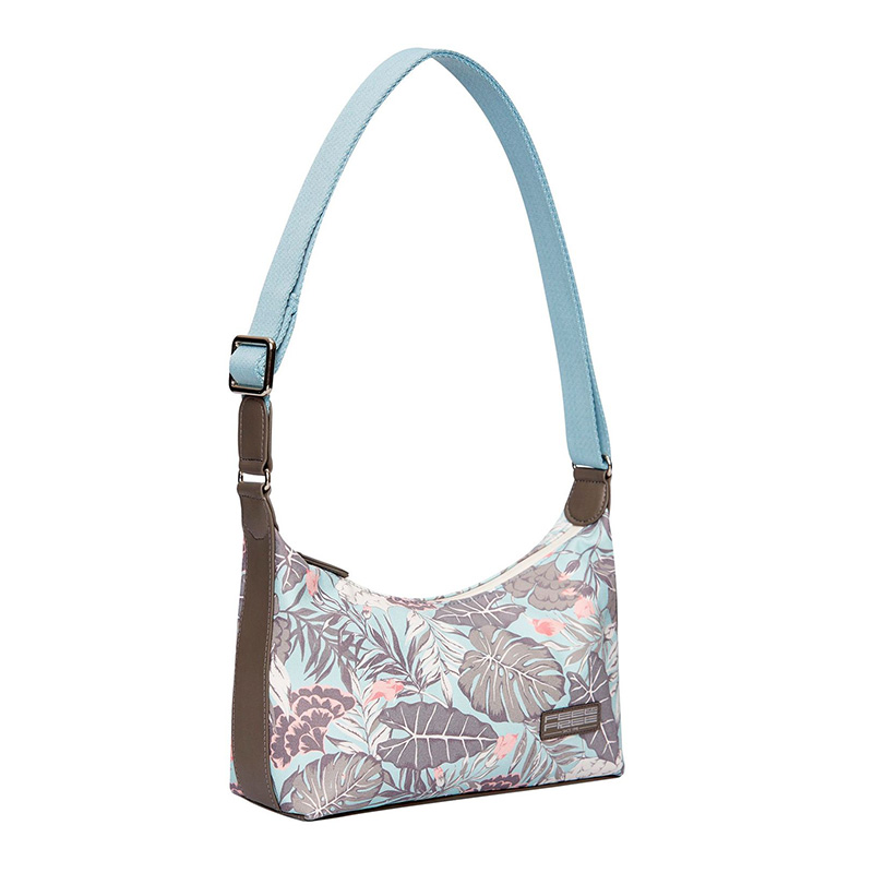 Feel Free Mini Tropical Handbag - Organic Teal