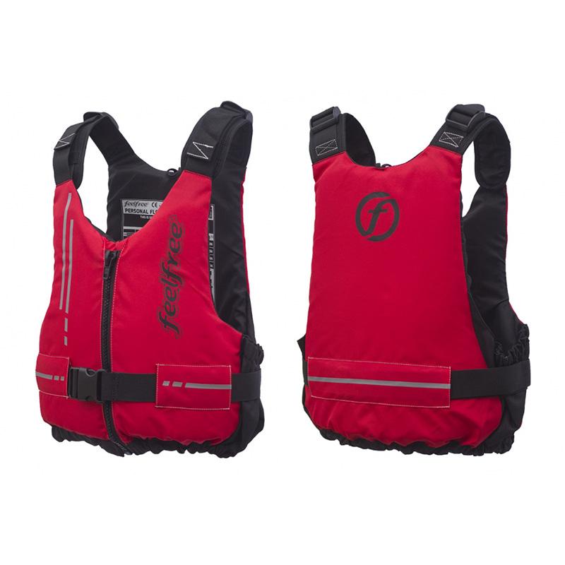FeelFree Life Jacket Basic S/M - Red