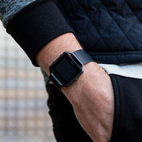 Fitbit Blaze Gunmetal Price Saudi KSA