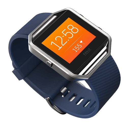 Buy Fitbit Blaze Blue Large Gps Fitness Watch With Heart