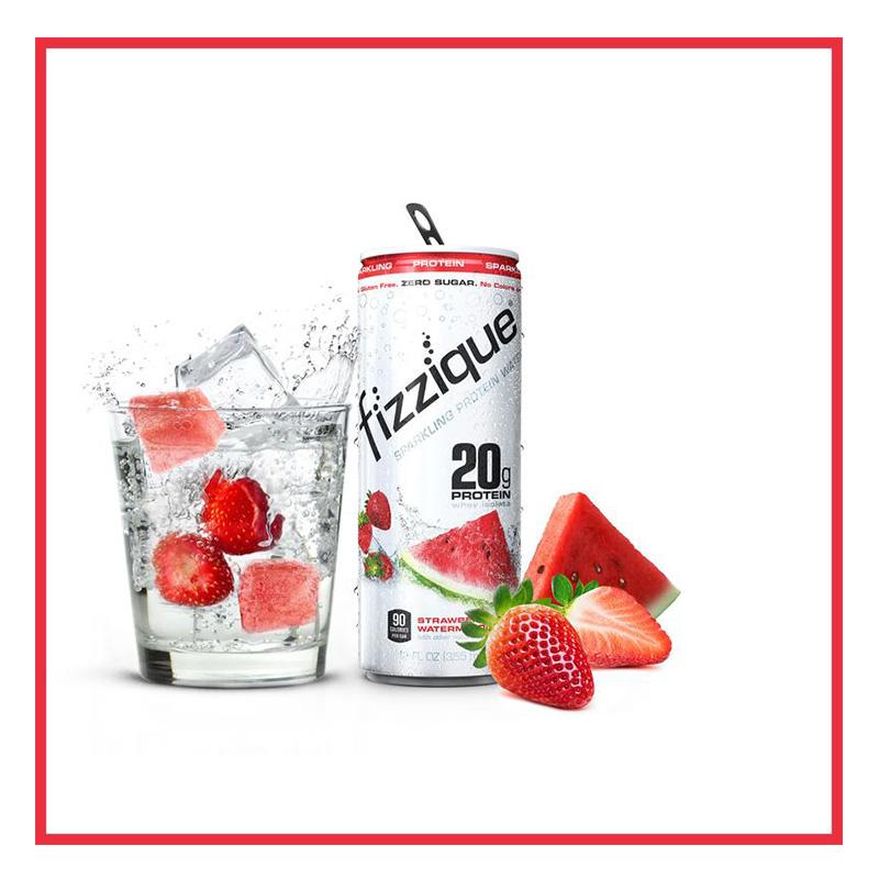 Fizzique Sparkling Protein Water 12Oz