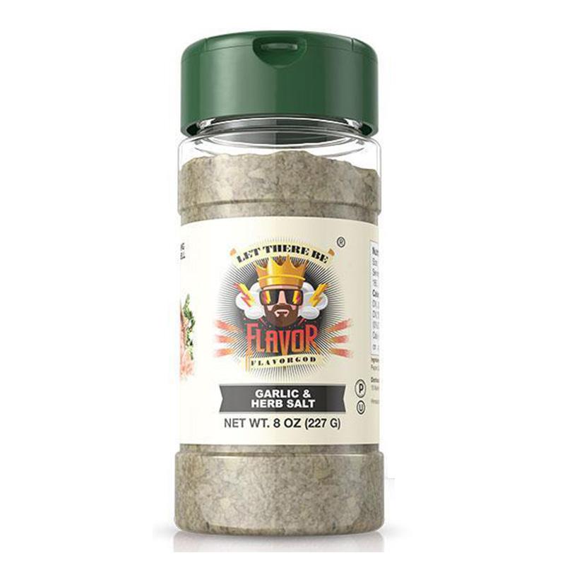 Flavor God Garlic & Herb Salt Seasoning 227 g
