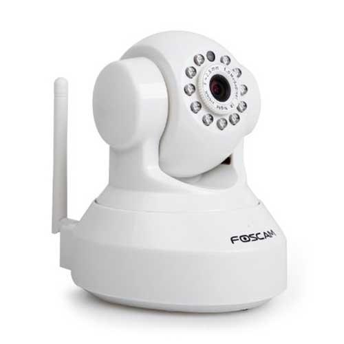 Foscam FC-FI9816PW Wireless IP Pan/Tilt HD Audio Camera White