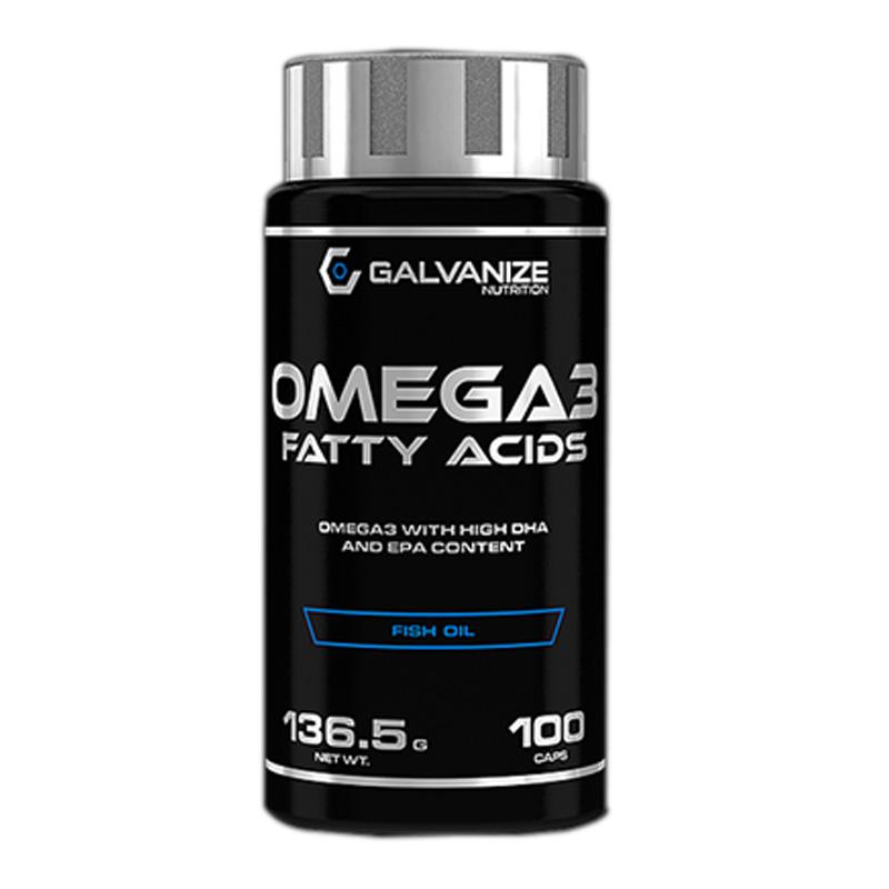 Galvanize Nutrition Omega 3 100 Capsules