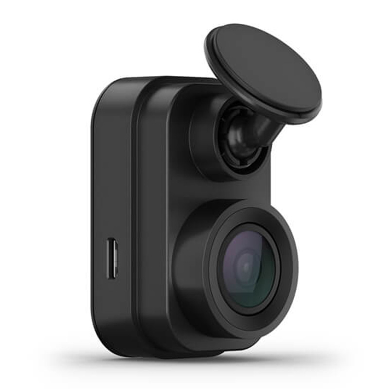 Garmin 1080p Tiny Dash Cam Mini 2 with a 140-degree Field of View