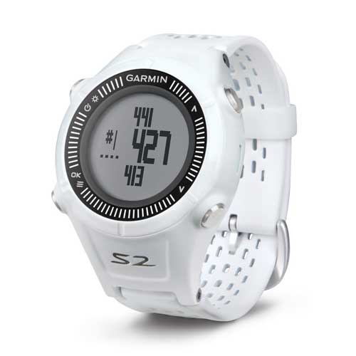 Garmin Approach S2 Golf GPS Smartwatch White and Gray