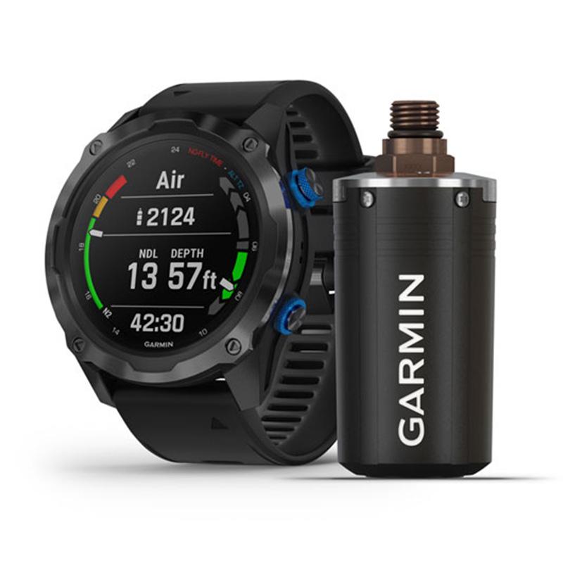 Garmin Descent Mk2i Bundle Titanium Carbon Grey DLC with Black Band With Descent T1