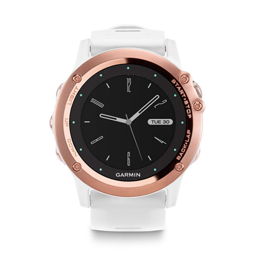 Garmin Fenix 3 Sapphire Rose Gold Tone with White Band Price UAE
