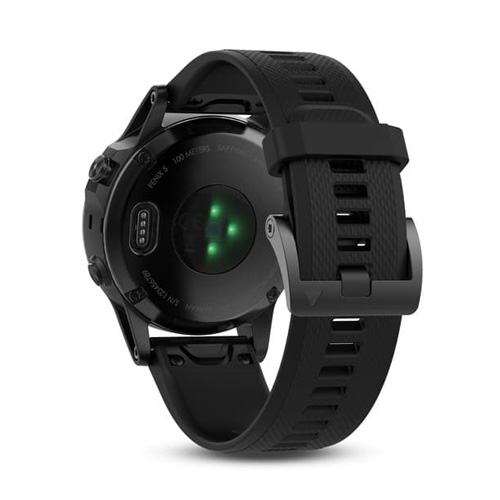 Garmin Fenix 5 Gps Watch Sapphire Edition Black With Black Band Price Dubai