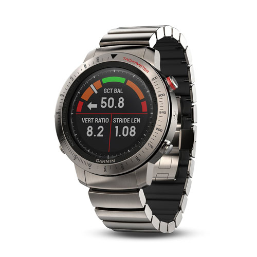 Garmin Fenix Chronos Gps Heart Rate Monitor Titanium Hybird Watch Band Price Dubai