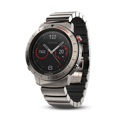 Garmin Fenix Chronos Steel Watch